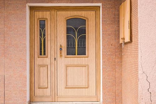 Réaliser un projet de vitrail porte d'entrée
