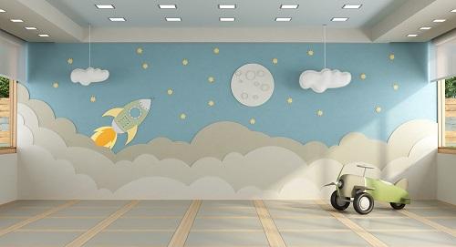 papier peint en décoration murale